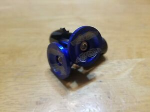 GT Wings Repop Bicycle Bike Handlebar Bar End Plugs Blue BMX