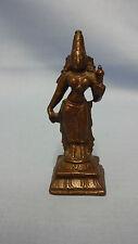 Antique Detailed Cast Bronze Hindu Figure Of A God / Deity 7.5cm