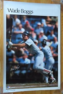 1980s WADE BOGGS No. 26 BOSTON RED SOX Sports Illustrated Poster