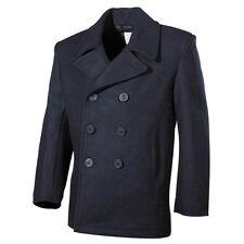 Mfh abrigo chaqueta de hombre Clásico Marina militar Estados Unidos US PEA 09015 azul S