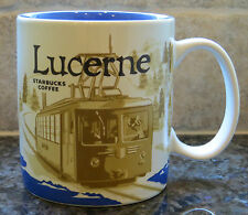 NWT Starbucks LUCERNE Switzerland Global Icon City Collector Series Mug with SKU