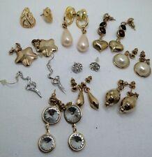 earrings vintage retro job lot bundle clearance