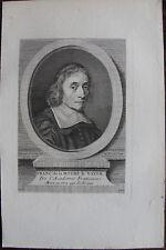 FRANCOIS DE LA MOTHE LE VAYER (1588-1672), PHILOSOPHE