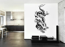 ik1580 Wall Decal Sticker Dragon Chinese mythological beast bedroom living room