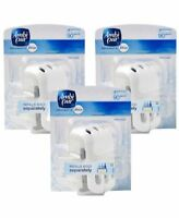 Febreze Ambi Pur 3Volution Plug In Control Air Freshener Diffuser - 3 Pack NEW