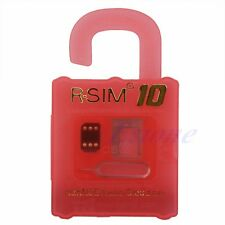 R-SIM 10 Card for iPhone 4S 5 5C 5S 6 plus 2G 3G 4G LTE iOS 8.x RSIM Nano Cloud