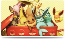 Pokemon Custom Playmat Eevee family Evolution Umbreon Espeon Glaceon Play Mat