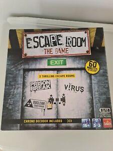 Escape Room The Board Game.  Prison Break/Virus/Nuclear Countdown.