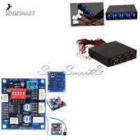 """12V 3.5"""" PC PWM PC 4 Channel CPU Fan Temperature Control Speed Controller Module"""