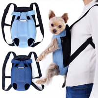 Pet Carrier Puppy Dog Cat Pouch Sling Outdoor Shoulder Chest Cloth Bag Backpack