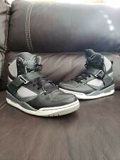 Jordan Air Flight 45 High Black/ Grey Shoes  384519-010 Size 9