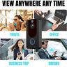 1080P HD WiFi Smart Doorbell Camera Wireless Chime Video Intercom Security Kit