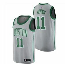 New 2018 Nike NBA Boston Celtics Kyrie Irving #11 City Edition Swingman Jersey