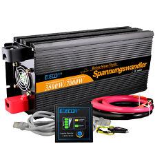 Spannungswandler 3500W 7000 Watt 12V auf 230V Reiner Sinus Solar Wechselrichter