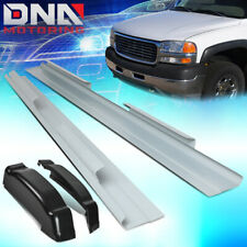 FIT 1999-2007 SIERRA SILVERADO CREW CAB PAIR REAR CAP CORNERS+OUTER ROCKER PANEL