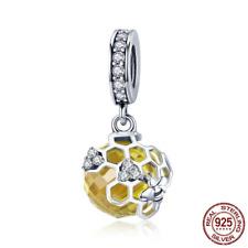 4b9fd9fb4f0c Moda Amarillo Natural Cuentas dijes y pulseras con charms | eBay
