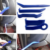 Car SUV 5pcs/set Door Moulding Kit Removal Panel Dash Nylon Automotive Tool Blue