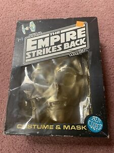 Vintage Halloween Costume C-3PO Empire Strikes Back Golden Robot Star Wars