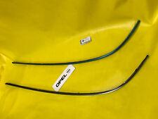 NEU + ORIGINAL OPEL SATZ Zierleisten Stoßstange hinten Omega B Limousine re + li