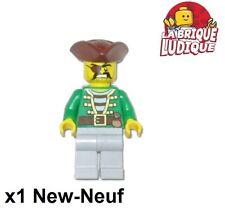 Lego - Figurine Minifig pirates marin gunner canonnier 70412 pi147 NEUF