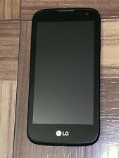 LG K3 LS450 Unknown Carrier Black, For Parts Only