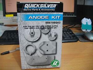 ANODE KIT FOR USE ON 1991 AND NEWER ALPHA ONE GEN 2 97-888756Q03