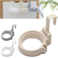 Bathroom Hair Dryer Holder Wall Mounted Round Hair Dryer Stand Storage Durable