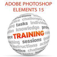 Adobe PHOTOSHOP ELEMENTS 15 - Video Training Tutorial DVD
