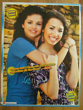 Selena Gomez and Demi Lovato, Sterling Knight, Double Full Page Pinup
