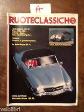 RUOTECLASSICHE Febbraio 1988 - Giulietta Sprint, Mercedes-Benz 190 SL, Appia