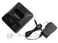 Rapid Charger for Motorola HNN8148 P110, P1225, GP300, GP350, GP88 GTX etc.