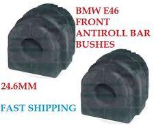 Per BMW e46 ANTERIORE ANTI ROLL BAR Stabaliser Bush cespugli Anti Roll Nuovo di Zecca