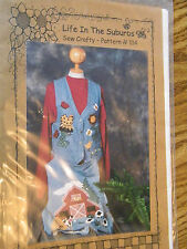 LIFE IN THE SUBURBS SEW CRAFTY PATTERN APPLIQUE