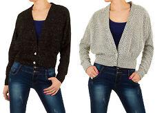 Markenlose taillenlange Damen-Pullover & -Strickware mit V-Ausschnitt