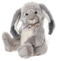 Wendy by Charlie Bears - jointed plush collectable bunny rabbit - CB202046B