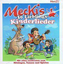 Mecki's 30 Lieblings Kinderlieder - CD NEU Mecki der Igel 30 Songs - Butzemann