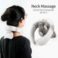 Smart Electric Neck & Shoulder Massager Pain Relief Health Care Relax Tool White