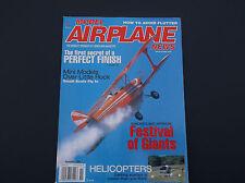 VINTAGE MODEL AIRPLANE NEWS MAGAZINE NOVEMBER 1998  R/C PLANES  *VG-COND*