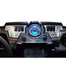 3 Pc Performance Aluminum Dash Switch Panel UTV RZR XP1000 LE X Silver Off Road