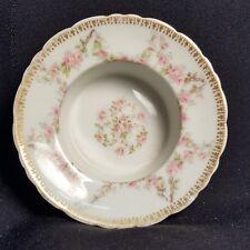Victorian Limoges Haviland Porcelain Ramekin, Gilt, Floral, Higgins (D-3)