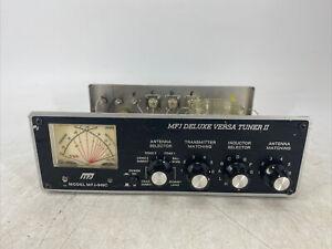 MFJ-949D Deluxe Versa Tuner II Ham Radio Manual Antenna Tuner PARTS OR REPAIR