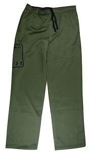 Under Armour Boys' UA Storm Armour Fleece Cargo Pants (XL, Green) - 1267764