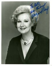 Virginia Mayo The Best Years of Our Lives Red Light Autographed 8 X 10 Photo