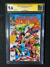 Marvel Super-Heroes Secret Wars #1 CGC 9.6 SS (1984) - Signed by Beatty and Zeck
