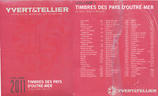 CATALOGO YVERT & TELLIER SELLOS DE ULTRAMAR VOLUMEN I EDICION 2011 PAISES  A - B