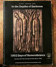 IN THE EDGE OF DARKNESS, 1992 Days of Remembrance, US Holocaust Memorial Council