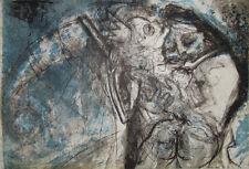 """""""Oncle Archibald G. BRASSENS"""" Lithographie signée Pierre PARSUS"""