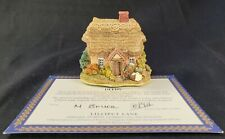 Lilliput Lane Cottages - Wash Day 1996-1997 With Deeds! Collectors Gift No Box
