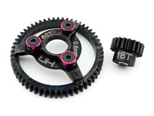Hot Racing Steel Pinion/Spur Gear Set 18/60T 32P for Traxxas Slash/Stampede 2WD