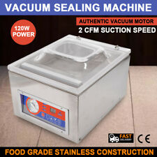 Commercial Kitchen Food Chamber Tabletop Seal Vacuum Packaging Machine Seal Bar